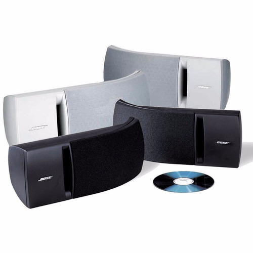 caixa stereo bose 161 braco / preto (par) ( lacrado)