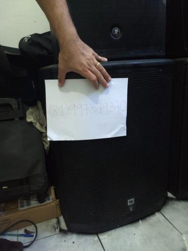 caixa sub grave jbl prx 618 s