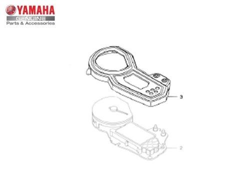 caixa superior do medidor yamaha fazer 250 original