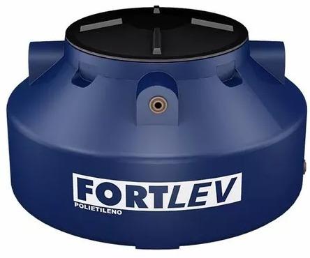 caixa tanque dagua 1000 litros com rosca fortlev polietileno