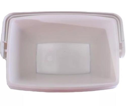 caixa térmica 15 litros cooler 21 latas com alça vermelha