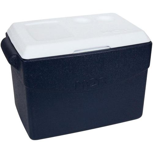 caixa térmica 26l glacial azul mor mor