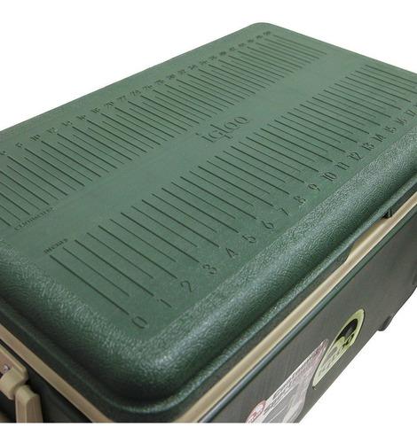 caixa térmica 49 litros contour sportsman 52 qt - igloo