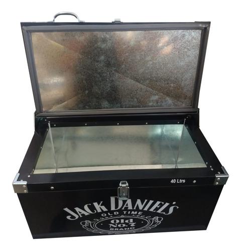caixa termica 50 litros 72 latas+gelo personalizada