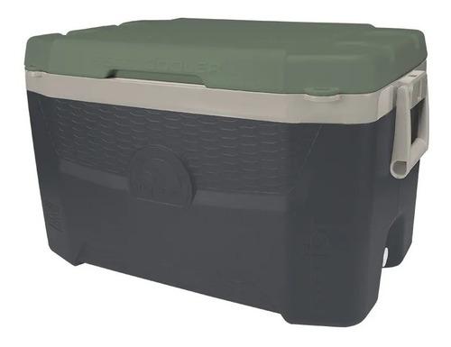 caixa térmica 52l porta copos pesca praia garrafa latas