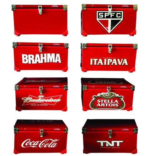 caixa termica 70 litros cola cola  blindada anti  ferrugem