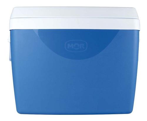 caixa térmica 75l azul - mor 25108191