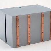caixa térmica aço galvanizado 100litros promoção