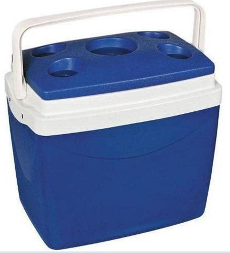 caixa térmica alça móvel para transporte 32 litros - obba