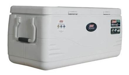 caixa térmica coleman 150qt xtreme marine 141.9l branca