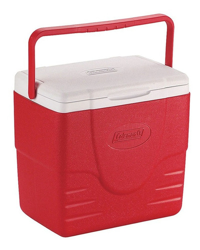 caixa térmica coleman 16qt vermelha