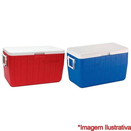 caixa térmica coleman 45.4l ref. 8748 1 unidade invicta