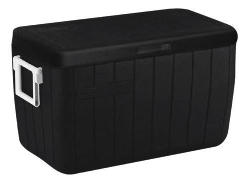 caixa térmica coleman coller até 63 latas all black 45,4l