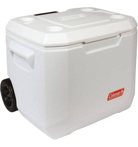 caixa térmica coleman marine c/rodas 50 qt 47,5lt
