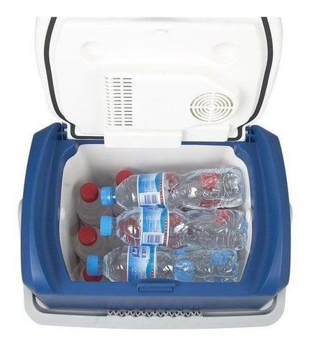 caixa térmica cooler 24 l de 12v automotivo quente ou frio