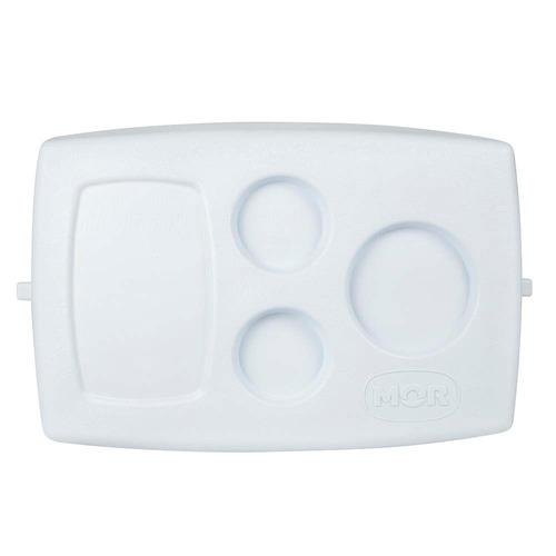 caixa térmica cooler capacidade 26 litros azul mor