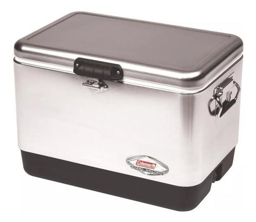 caixa térmica cooler coleman inox