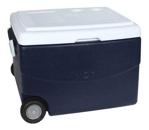 caixa térmica cooler glacial azul mor 70 litros  25108151