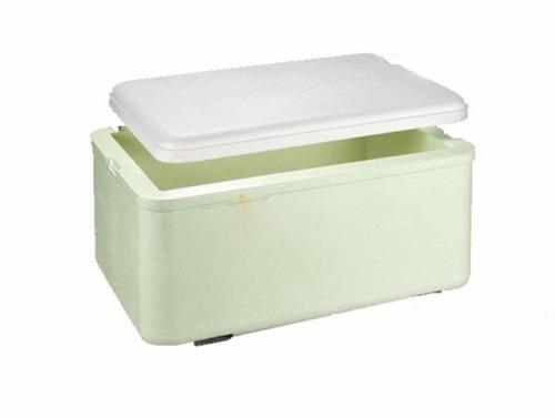 caixa térmica de isopor 35 litros cerveja refrigerante agua