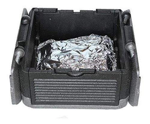 caixa termica dobravel automatica ice cooler quente e frio