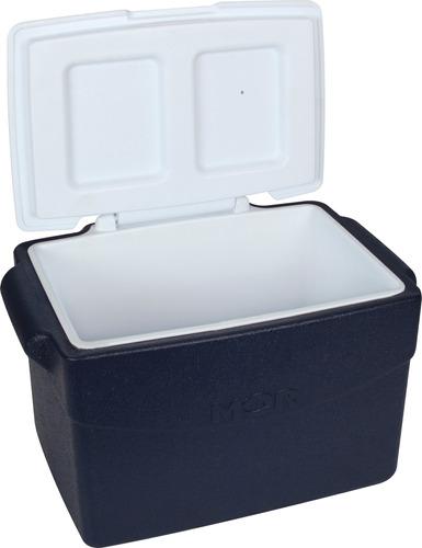 caixa térmica glacial 26l mor azul