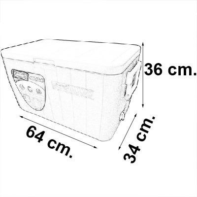 caixa termica grande 45 litros cooler isopor coleman origina