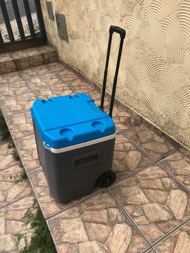 caixa térmica igloo 60qt roller 60 litros