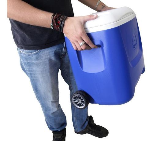 caixa térmica igloo island breeze roller 28qt 41 latas