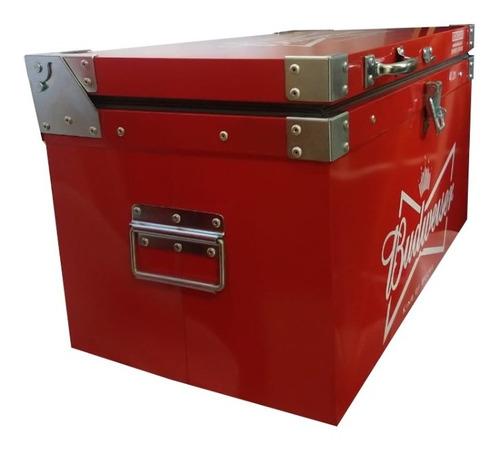 caixa térmica metálica 50 litros