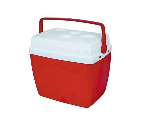 caixa térmica mor 18l vermelha