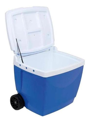 caixa termica mor 42l azul  8221