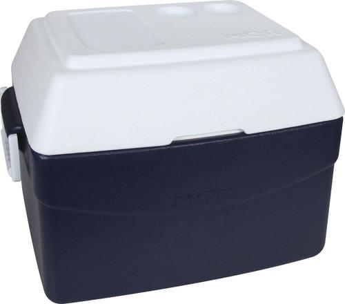 caixa térmica mor glacial 55 litros com tampa articulada