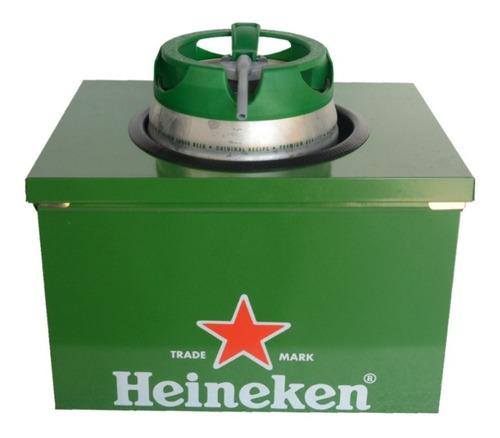 caixa térmica para barril chopp heineken 5 litros