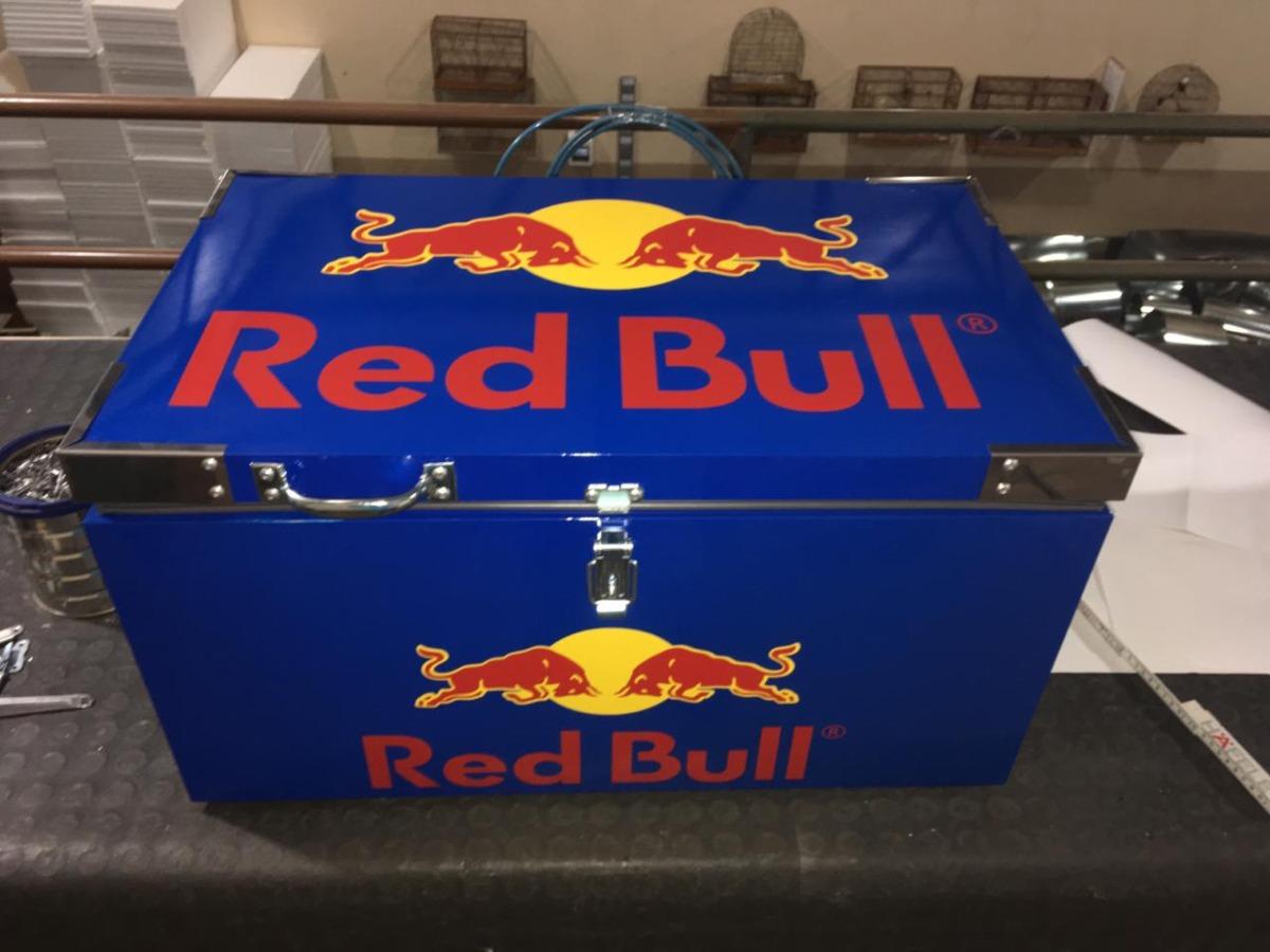 112b48b691b6e caixa térmica red bull azul 40 litros (promoção). Carregando zoom.