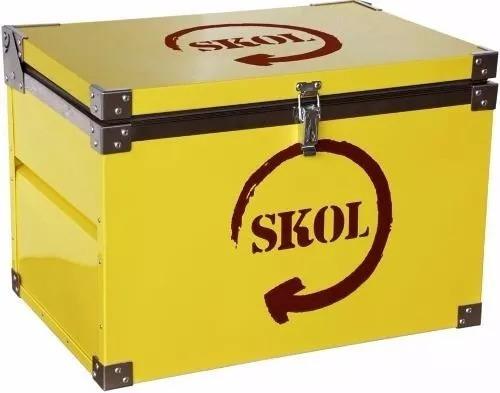 caixa térmica skol 70 litros