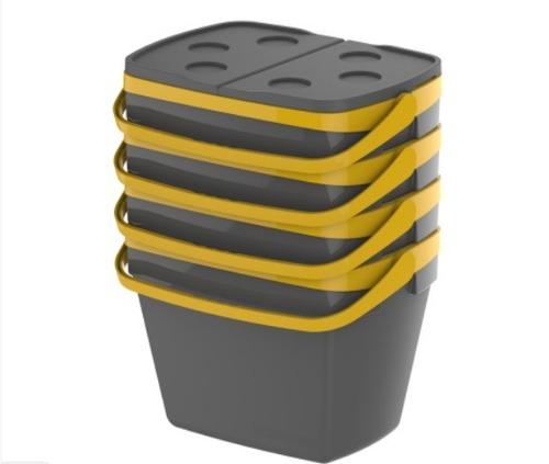 caixa térmica soprano soberana 35 litros - cinza