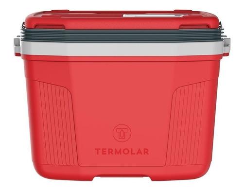 caixa térmica suv 32l vermelha termolar