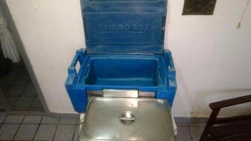 caixa térmica (thermo box) industrial p/transporte refeições