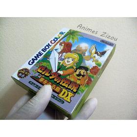 Caixa The Legend Of  Zelda Gbc Jp