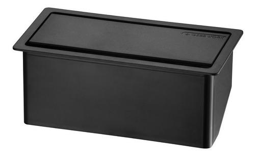 caixa tomadas embutir na mesa, hdmi,  escritorio caixa vazia