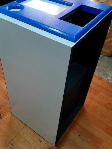 caixa top bob canhão/euclides 15 pol 2 médios 8 pol