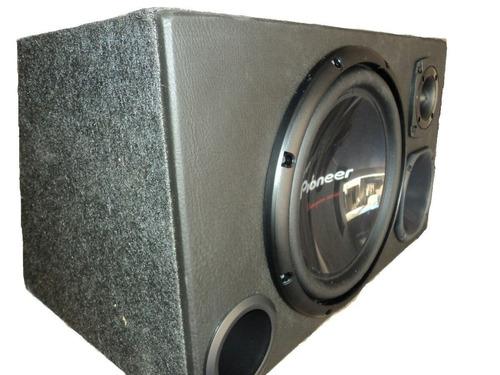 caixa trio pioneer mais potencia e qualidade tsw310 d4/s4