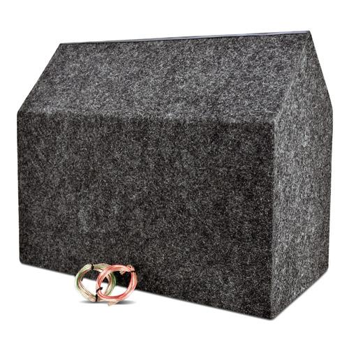 caixa trio sub pioneer + módulo taramps + kit de instalação