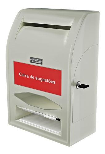 caixa urna de sugestões reclamações 6702 menno