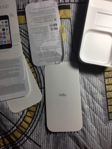 caixa vazia iphone 5c