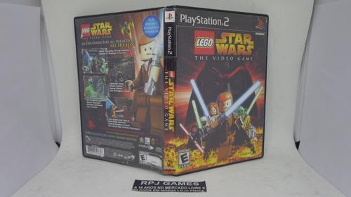 caixa vazia s/ manual s/ cd do jogo lego star wars p/ ps2