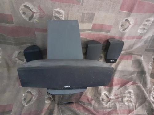 caixa wofeer e 4 caixas som lg