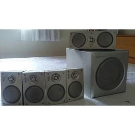 Caixas Acústicas Philips Cs 2600 4ohms Com Sub.ótimo Estado.