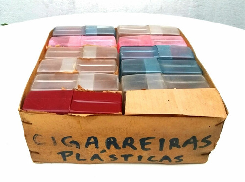 caixas antigas para cigarros