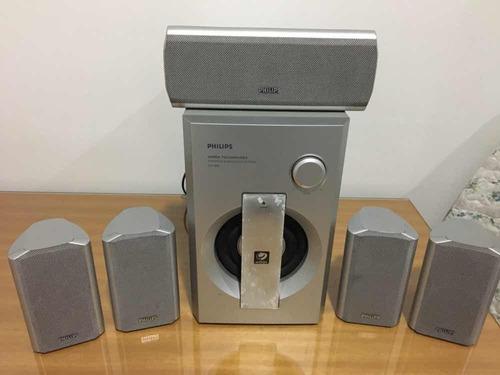 caixas de som 5.1 phillips